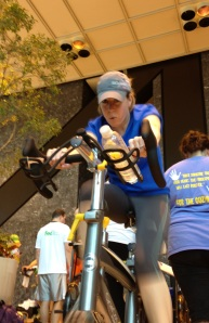 Michelle Stewart, Race to Anyplace Team Leader