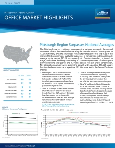 Q2 2013 Pittsburgh Office Report