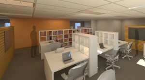 desk area rendering