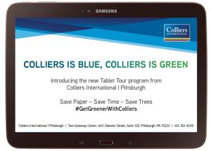 Colliers is Blue