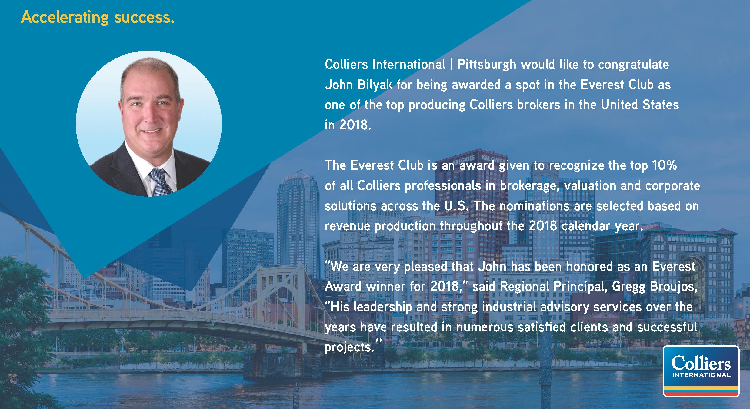 Everest Award - John Bilyak
